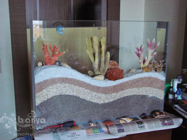 Фото. Сухой аквариум в процессе изготовления. кв.ул.Урловская