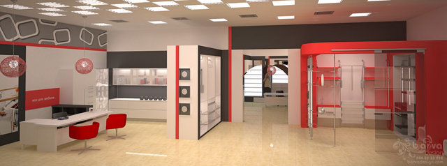 Дизайн выставочного салона