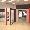 Выставочный зал Софиевская Борщаговка. Второй зал. Стенд с гардеробной комнатой и кухней