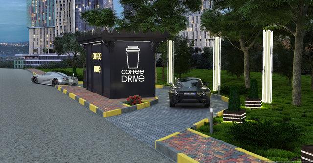 Дизайн МАФу Coffee Drive