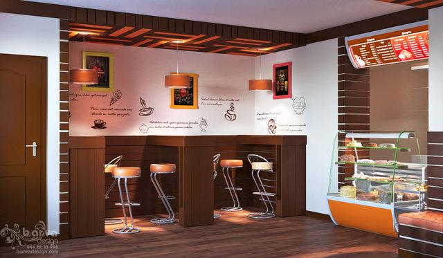 Дизайн кафетерия. Мебель из поддонов