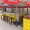 Дизайн літнього майданчику кафе