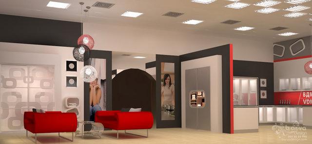 Выставочный зал Софиевская Борщаговка. Второй зал