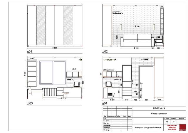 17 Розгортка стін дитячої кімнати: покриття, меблі, електрика
