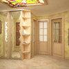 Дизайн холла в стиле прованс.1 этаж таунхауса в п.Томилино