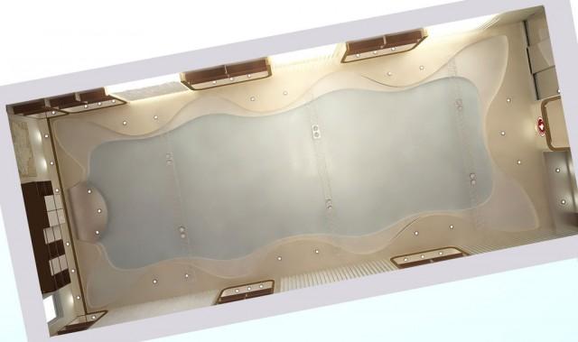 """Дизайн потолка офиса компании """"Колви"""""""