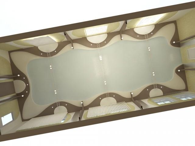 """Дизайн потолка в офисе компании """"Колви"""""""
