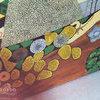 Лакові картини по мотивам робіт Клімта. Фрагмент декору. Квартира в стилі арт-деко