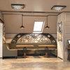 Дизайн ресторану в стилі стімпанк. Інтер'єр другого поверху