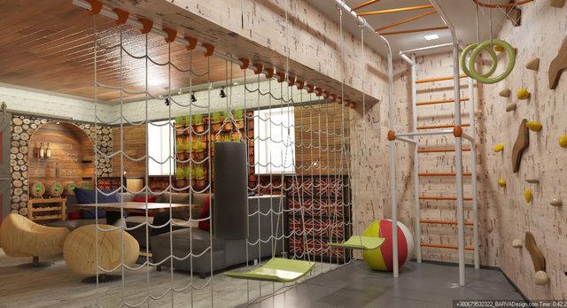Дизайн кімнати відпочинку в стилі лофт