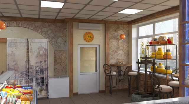 Дизайн інтер'єру продуктового магазину пр.П.Григоренка