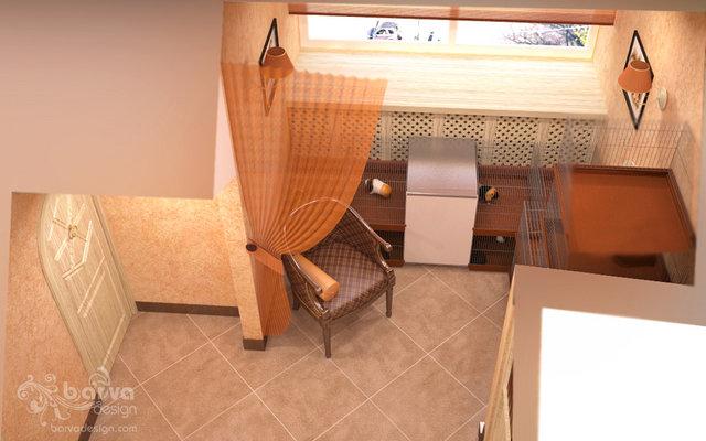 Дизайн холла в стиле прованс.4 этаж таунхауса в п.Томилино