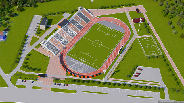Розробка стадіону ФК