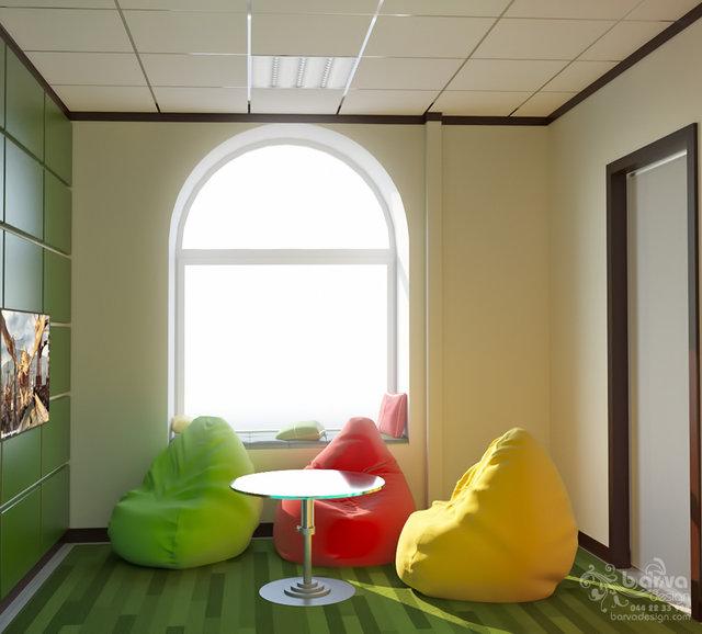 Дизайн антикафе в Житомире. Кімната відеоігор