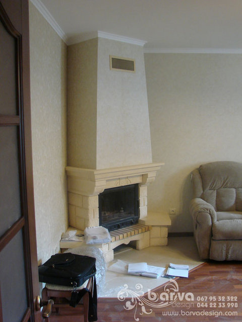 Ремонт котеджу с.Горбовичі. Фото вітальні після ремонту