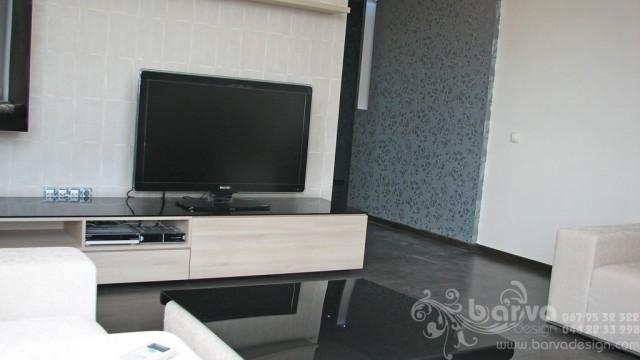 Ремонт квартири на Чоколівському. Фото вітальні