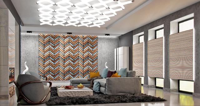 Дизайн интерьера в стиле лофт в частном доме под Киевом