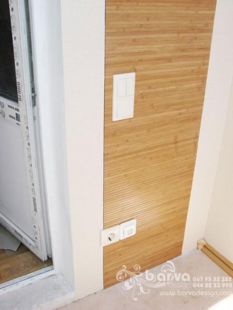 Ремонт квартири на Лаврухина. Фото балкону після ремонту