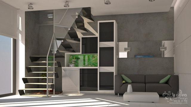 Дизайн холла сауны в доме с.Старые Петровцы