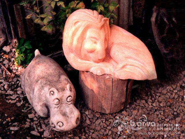 Бегемот и лев