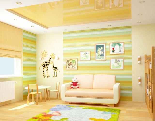 Дизайн дитячої в квартирі по вул.Лаврухіна