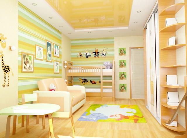 Детская в квартире по ул.Лаврухина