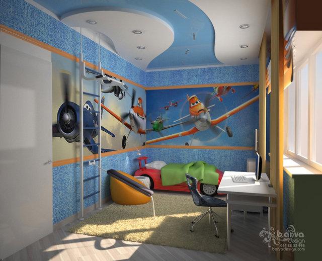 Дизайн детской в доме с.Старые Петровцы