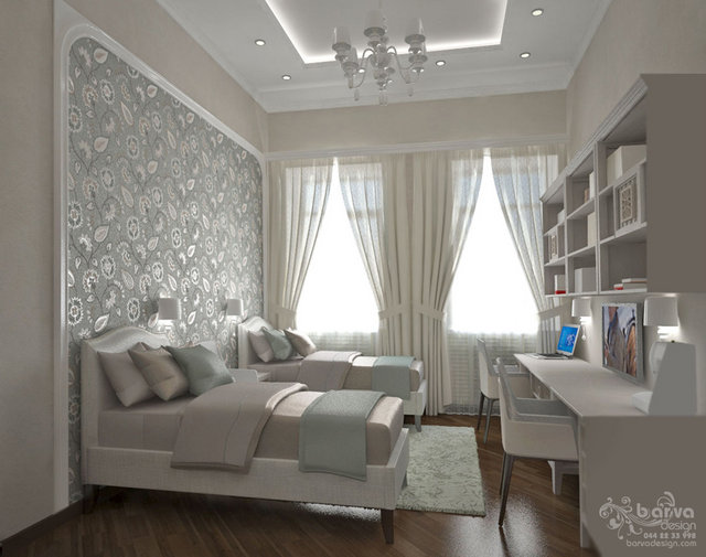 2-ярусна квартира на Саксаганського. Дизайн дитячої