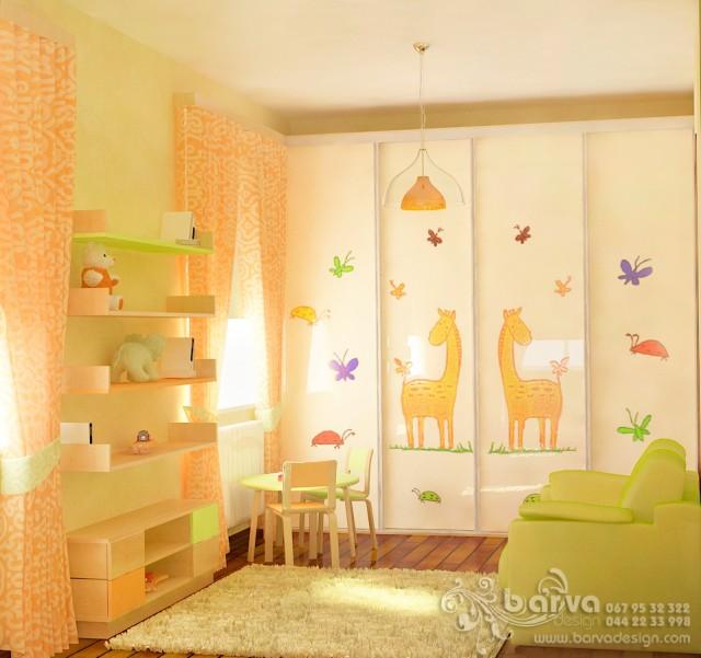Дизайн детской в доме с.Коцюбинкое