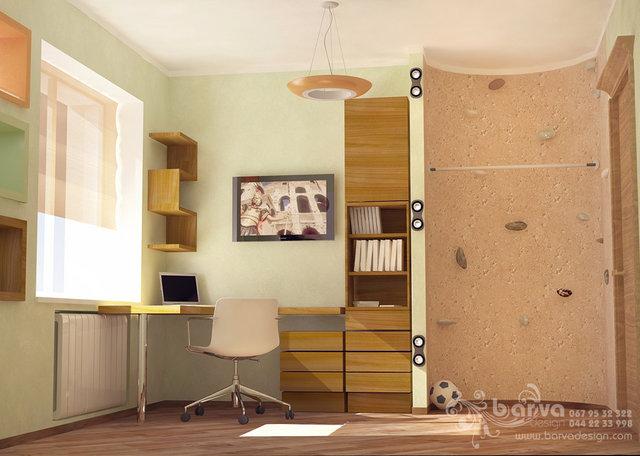 Дизайн детской для мальчика в квартире в пер.Ярославский