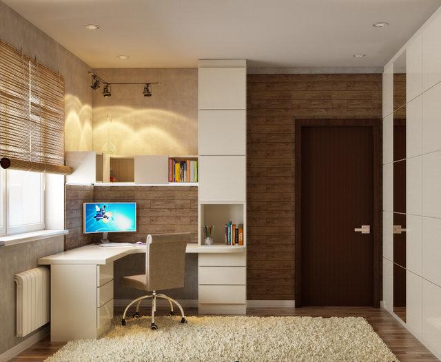 3-к квартира на Героїв Севастополя. Дизайн дитячої кімнати