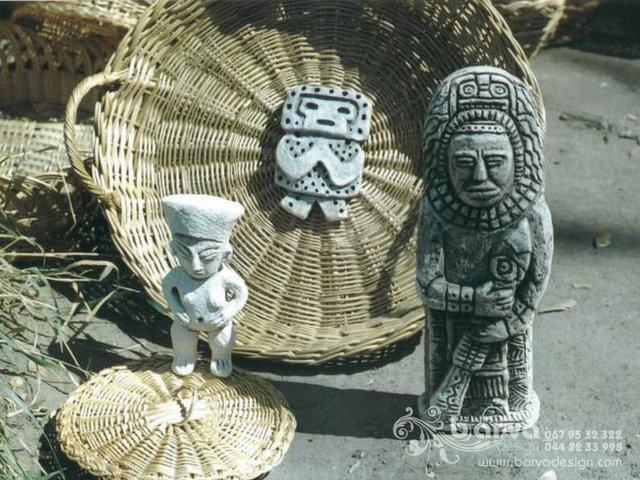 Фигурки индейские