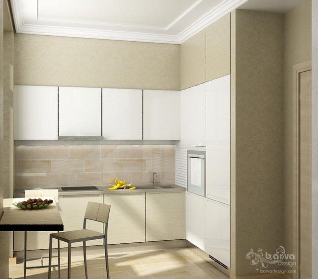 Квартира на Севастопольській площі. Дизайн кухні