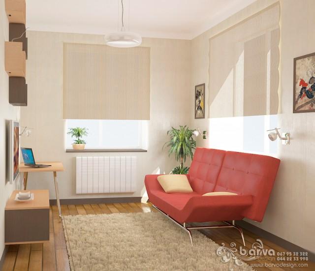 Дизайн гостевой комнаты в доме с.Коцюбинское