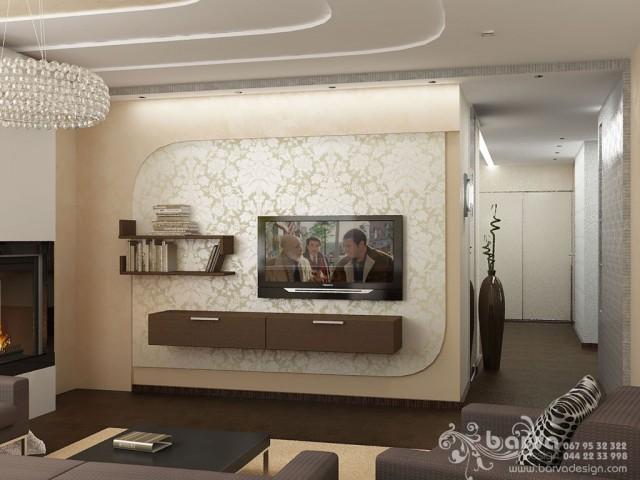 Варианты дизайна гостиной