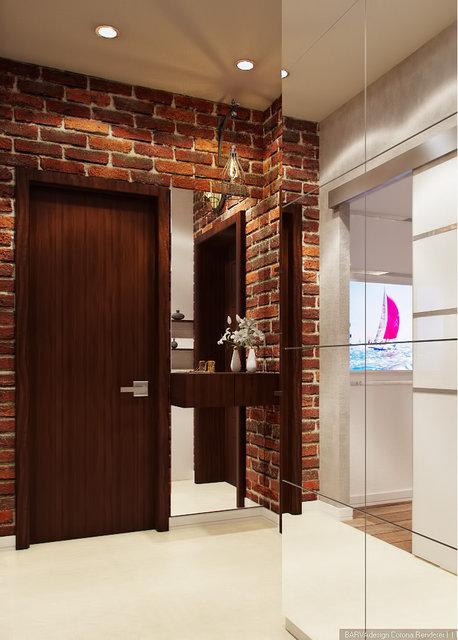 3-к квартира на Героїв Севастополя. Дизайн коридору