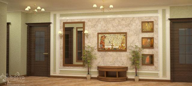 """Дизайн холла в квартире ЖК """"Сонячна брама"""""""