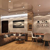 "3к-квартира ЖК ""Сонячна Брама"". Дизайн вітальні-кухні. Інтро"