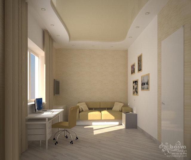 Дизайн кабинета в доме с.Старые Петровцы