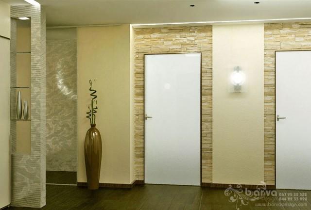 Дизайн холла в квартире на бул.Чоколовском. Мужской интерьер