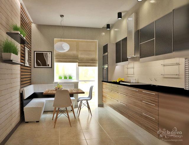 2-к квартира в с.Петрівському. Дизайн кухні