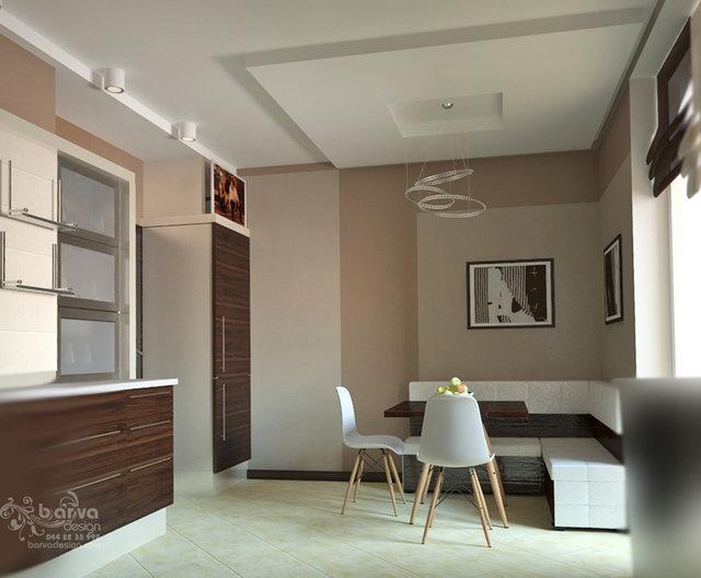 Дизайн квартири на Осокорках. Дизайн кухні