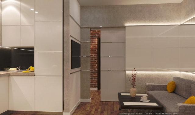 3-к квартира на Героїв Севастополя. Дизайн спальні