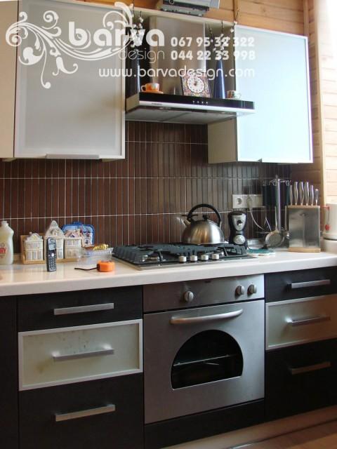 Фото кухні після ремонту. Квартира по пр.Перемоги