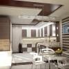Вариант дизайна кухни. Квартира в стиле эклектичного модерна на пр.Бажана