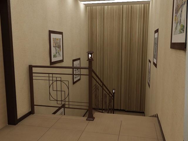 Дизайн сходів в котеджі в Дніпрі