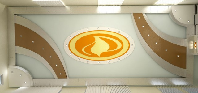 """Дизайн стелі в офісі компанії """"Колві"""""""