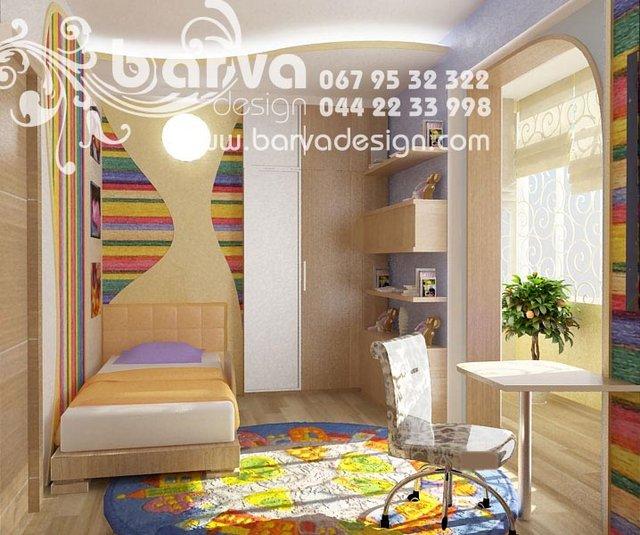 Дизайн детской в квартире ул.Кругло-университетская