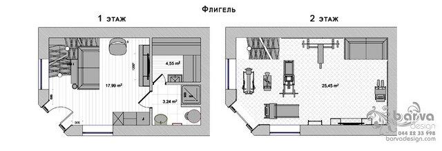 Планировка гостевого дома с.Старые Петровцы