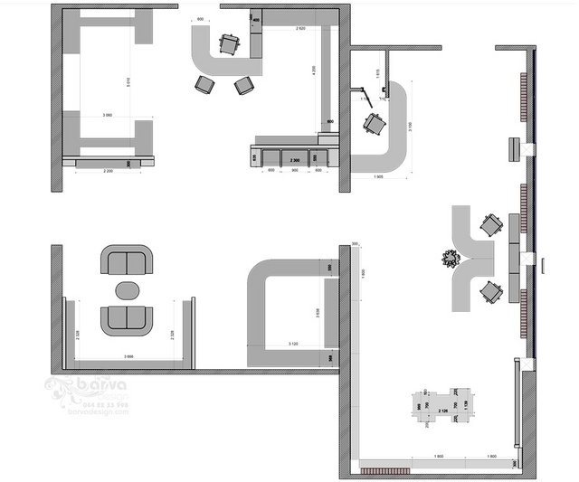 Дизайн виставкового залу